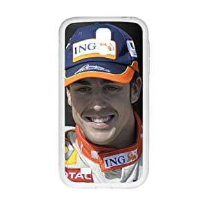 KORSE Fernando Alonso White Phone Case for Samsung Galaxy S4