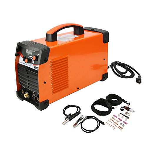 Genuine store 3 in 1 Combo 5600W Welding Machine for DIY and Businesses Use - CT520D Plasma Cutter Tig Stick Welder -50Amp Air Plasma Cutter, 200A TIG/Stick Welder, Dual Voltage 220V/110V