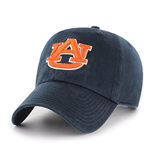 (NCAA Auburn Tigers OTS Challenger Adjustable Hat, Navy, One Size)