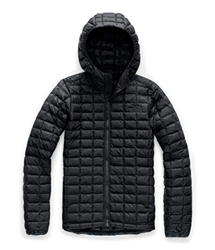 The North Face Women's Thermoball Eco Hooded Jacket, TNF Black Matte, Medium