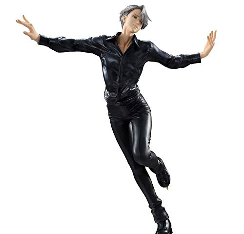 brandless Yuri on Ice New Victor Nikiforov Anime Cartoon Figura de accion PVC Anime Figura Anime Figurine Coleccion Figuras para Amigos Regalos 23cm