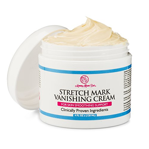 Stretch Mark Cream by Mommy Knows Best - Anti Cellulite Vanishing Cream - Remove Stretch Marks From Pregnancy - Clinically Proven Prevention Lotion Therapy (Lotion Skin Therapy Softening)
