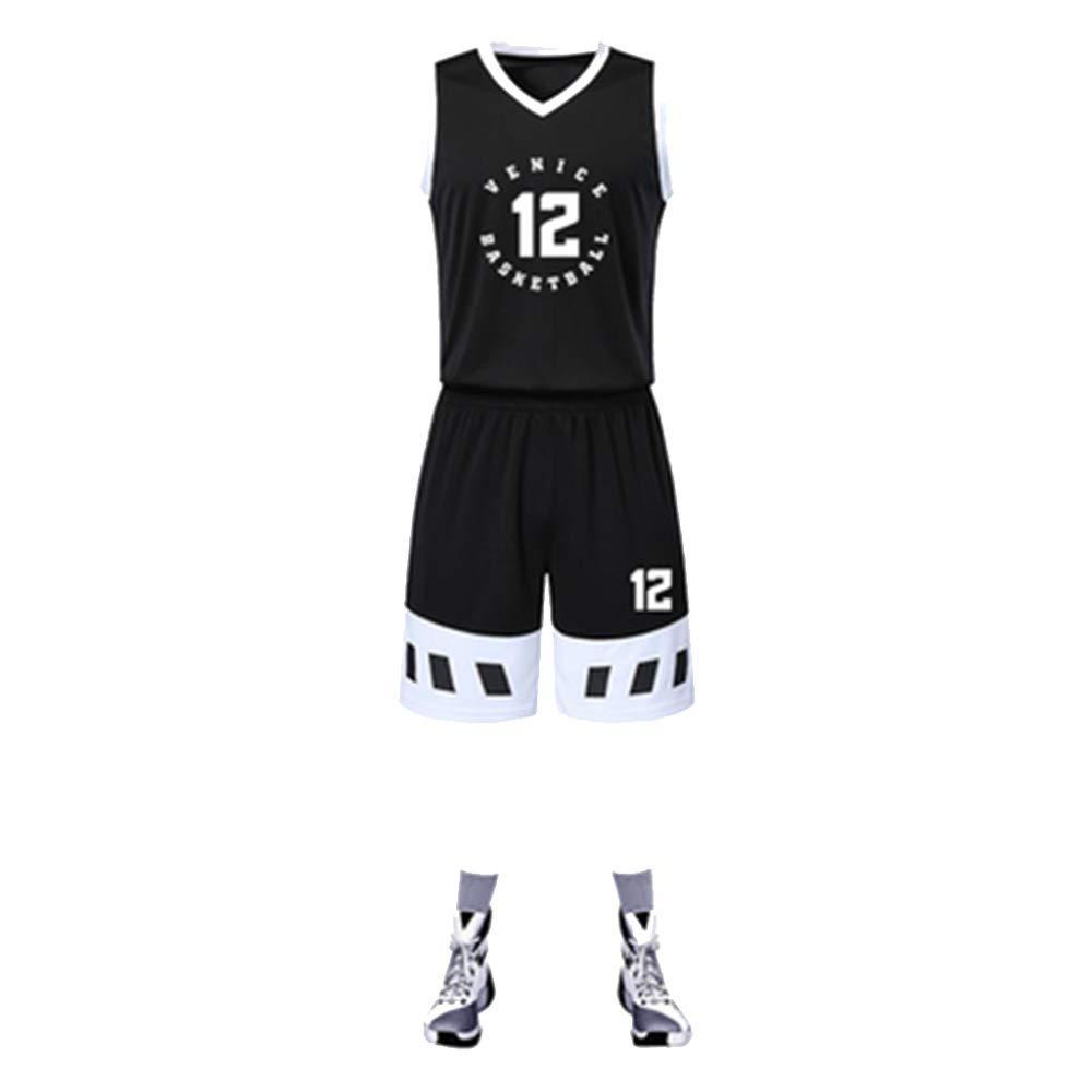 MHDE Hombres Niños Retroceso Entrenamiento De Baloncesto Jersey ...