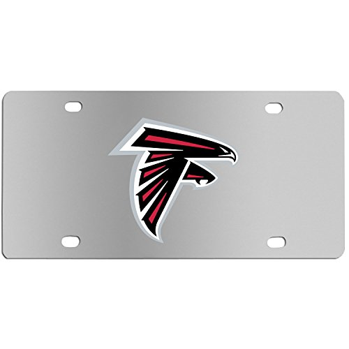 (Siskiyou NFL Atlanta Falcons Steel License Plate with Digital Graphics)