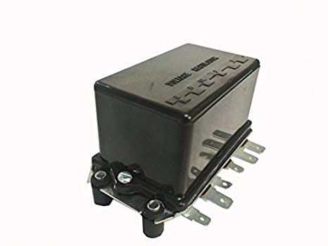 Amazon 12v Voltage Regulator Fordnew Holland 2000 3000 4000. 12v Voltage Regulator Fordnew Holland 2000 3000 4000 5000 International B354. Ford. Wiring Diagram Ford 10505a Voltage Regulator At Scoala.co