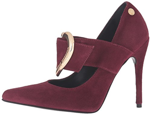 Love Moschino Women's Heel Dress Pump, Oxblood, 40 EU/10 M US by Love Moschino (Image #5)