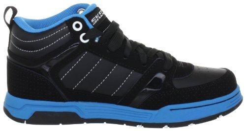 Skechers EndorseAsher 91848L CCBK - Zapatillas de cuero para niño Negro