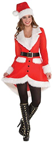 Amscan Elegant Santa Costume for Women, Christmas Costume, Large, with Included Accessories ()
