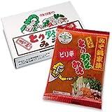 ピリ辛味 【まつや とり野菜みそ】  1箱(12袋入り) [その他]