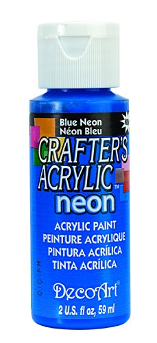 Crafters Acrylic Purpose Paint Ounces Blue