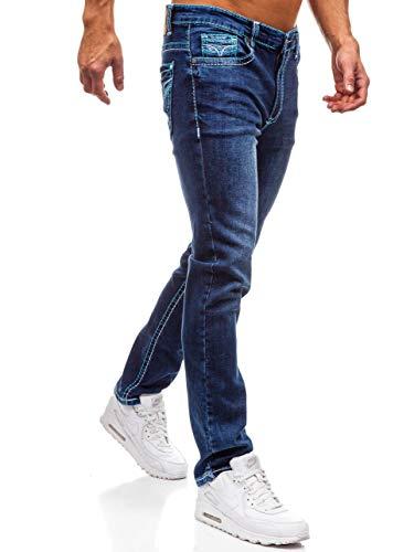 Azul Vaquero Hombre Diario 702 Clubwear Y Slim Azul Fit Estilo BOLF Pantalón 6F6 Oscuro 7qgEdO7w