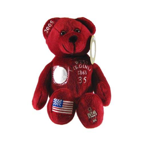 Quarter Toys State Bear Timeless - West Virginia State Quarter Bear Collectible Stuffed Bear