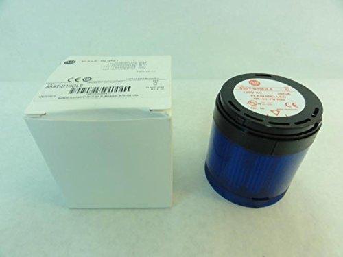 Allen-Bradley 855T-B10GL6 Flashing LED Stack Light, Blue, 120V by Allen-Bradley