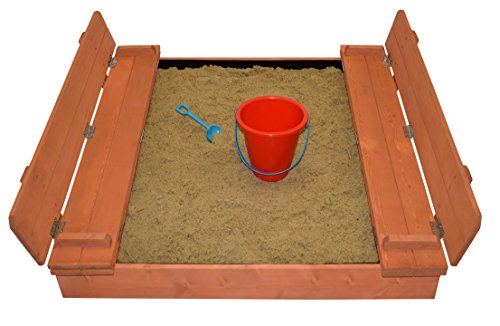 Review Kids Wood Sandbox With