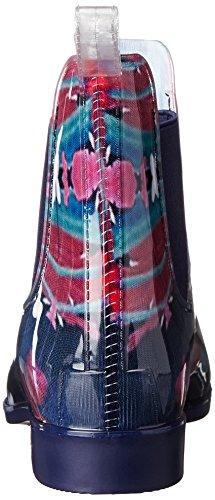 Myst Shoe Rain Navy Women's NoSox Floral 7YqpOxg