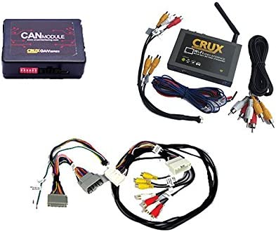 CRUX Smartphone Mirroring w// Navigation /& Video Bypass for Dodge//Jeep WVICH-03