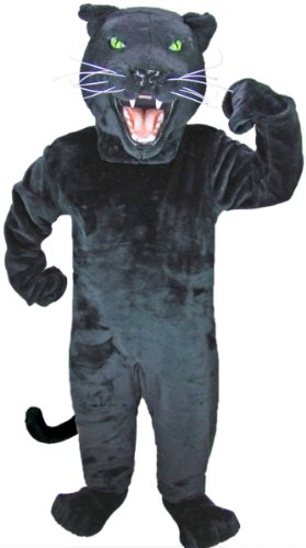 Black Panther Mascot Costume -