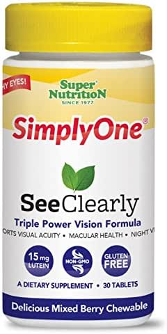 Multivitamins: SimplyOne SeeClearly