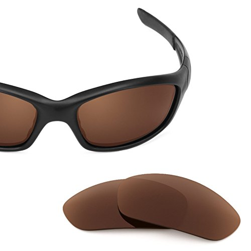 Revant Replacement Lenses for Oakley Straight Jacket (2007) Dark Brown by Revant