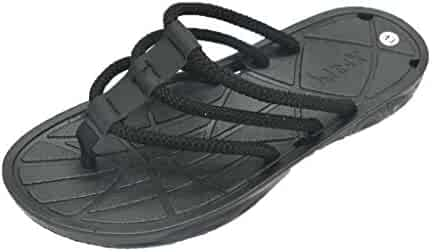 92c2c81c1 iLXHD Men s Summer Fashion Flip Flops Clip Toe Sandals Non-Slip Flat Beach  Slippers Beach
