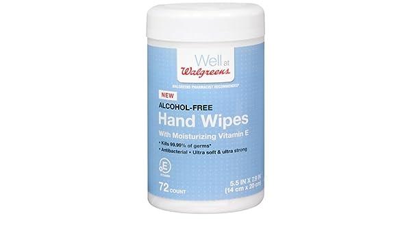 Amazon.com: Walgreens Hand Wipes with Moisturizing Vitamine E, 72 Ea (2 Pack): Health & Personal Care