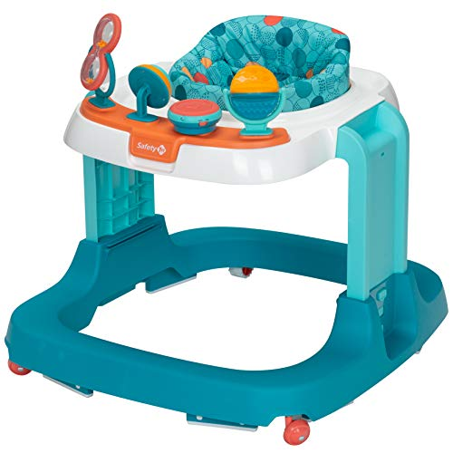 Safety 1St Ready, Set, Walk! Dx Developmental Walker, Spotlight Teal, One ()