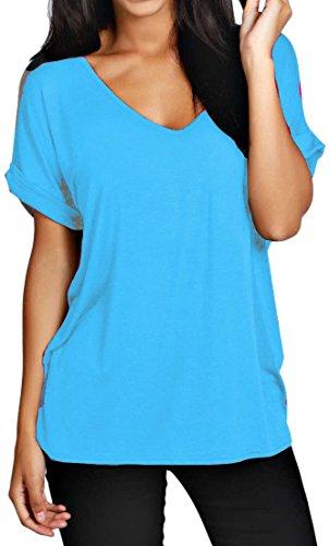 Fashion 1st - T-shirt - Donna Turchese