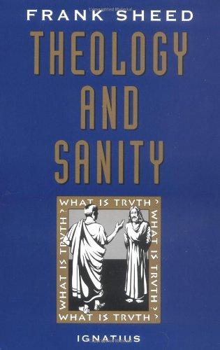 Download Theology and Sanity pdf epub