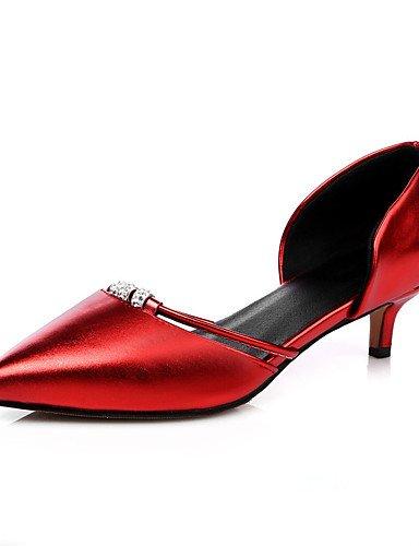 10 8 En Eu39 Plata noche Red amp; Zq Partido Punta Eu41 Rosa Del Uk7 Mujer Cn42 5 5 us9 Verde Vestido Dedo Tac¨®n Pie Rojo Zapatos Abiertos Pink Cn39 De Bajo Uk6 us8 XUBnwAFxUq