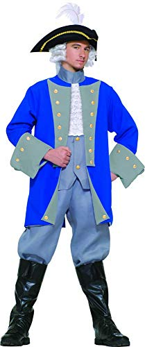 Colonial General Adult Costume Standard Size -
