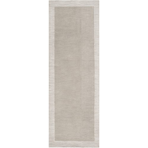 Surya angelo:HOME by Madison Square MDS-1001 Transitional Hand Loomed 100% Wool Oatmeal 2'6