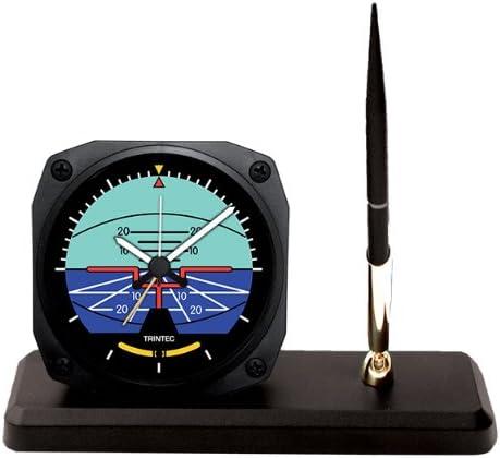 Trintec Artificial Horizon Desk Pen Set with Alarm Clock Model DS63