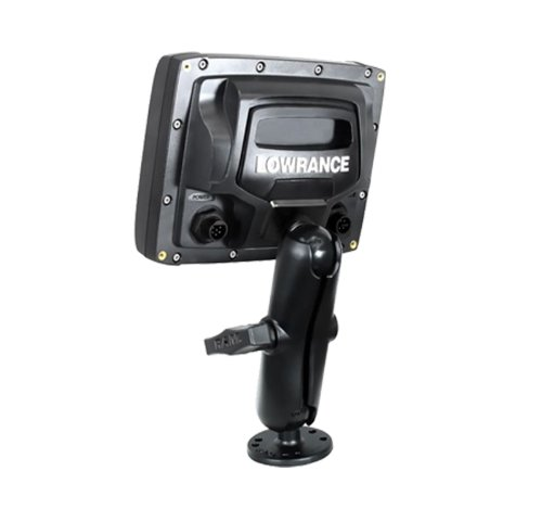 "Lowrance RAM 1.5"" Ball Marine Electronic Rugged Use Mount for Elite-5 Mark-5 Hook-5 Elite 7 Ti Fishfinders"