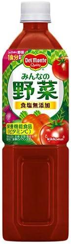 デルモンテ みんなの野菜 900gペットボトル×12本入×(2ケース)