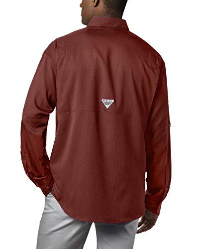 Columbia Men's PFG Tamiami II Long Sleeve Shirt , Rusty, XX-Large by Columbia (Image #2)