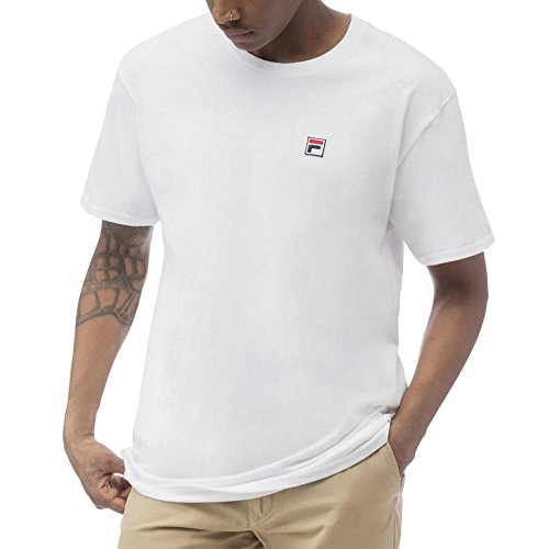 2159e5e7621 Fila Men's F Box T-shirt, White, 3XL - Buy Online in UAE.   Apparel  Products in the UAE - See Prices, Reviews and Free Delivery in Dubai, Abu  Dhabi, ...
