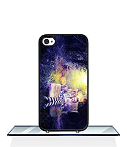 Disney Alice in Wonderland Apple Iphone 4s Phone Funda Case Scratch Resistant Anti-Dirt SmartPhone Funda Case & Cover (Plastic Material)