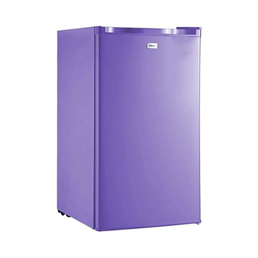 Mini refrigerador de una puerta con congelador Para el dormitorio ...