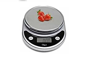 Ozeri Pronto Digital Multifunction Kitchen and Food Scale, Elegant Black (5, Black)