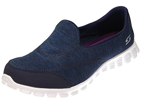 Skechers Sport Donna Ez Flex 2 Fashion Sneaker Blu / Bianco / Viola