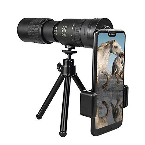 12X30 Monocular Telescope, High Power HD Monocular For Bird Watching Adults With Smartphone Holder & Tripod BAK4 Prism…