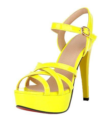 Scarpe Gelb con alla Donna UH caviglia cinturino ZdUnw7xY
