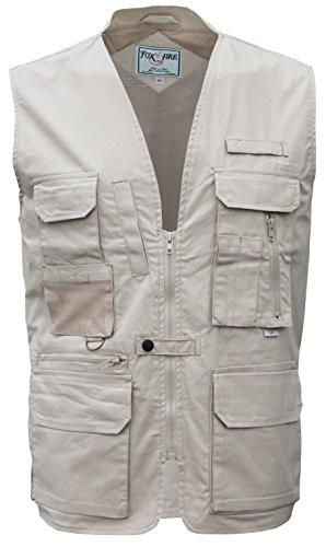 Foxfire Stone Ultimate Travel Hiking Safari Photo Vest Size Large