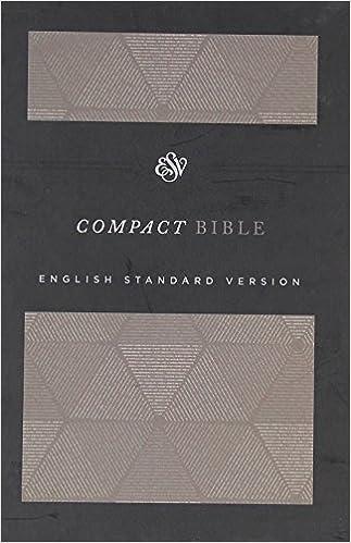 ESV Compact Bible (Cloth Over Board, Timeless): Amazon ca