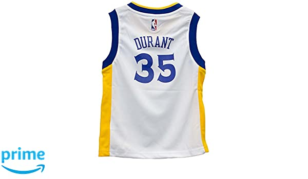 brand new f8593 c0def OuterStuff Kevin Durant Golden State Warriors White Toddler Jersey