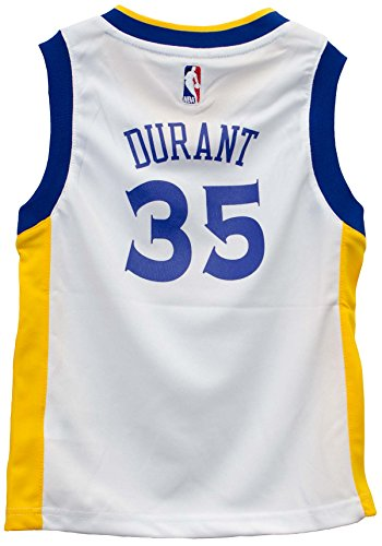 (OuterStuff Kevin Durant Golden State Warriors White Toddler Jersey (2t))