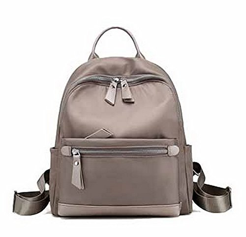 Aalardom Hiking Backpacks Women Fashion Casual Nylon Daypack Backpacks, Tsmbh180726 Grisclaro