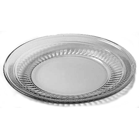 - Anchor Hocking Annapolis 8 Inch Glass Plate, Set of 6