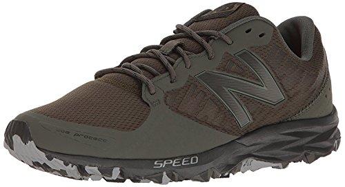 New Balance Mens MT690v2 Responsive Trail Running Shoe, negro, verde (Force Green/Black), 37.5 D(M) EU/4.5 D(M) UK
