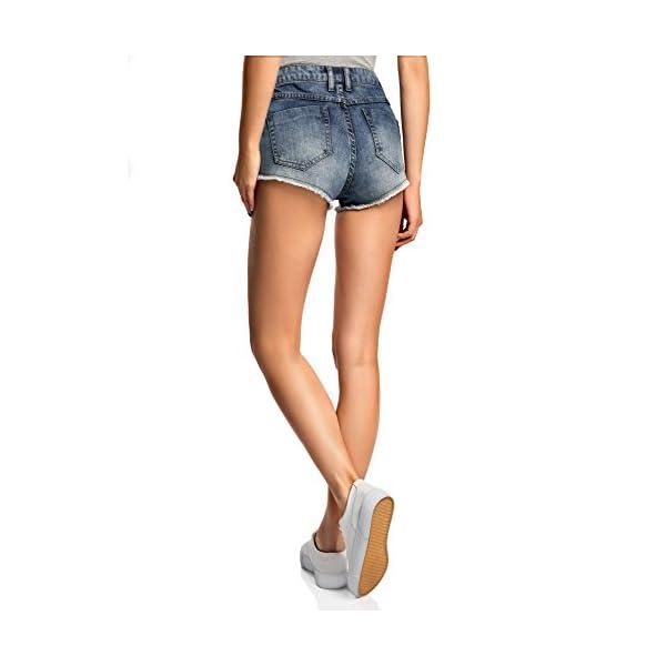 oodji Ultra Donna Shorts in Jeans Hot Pants 2 spesavip